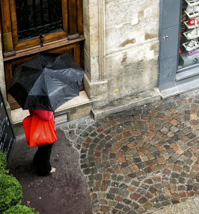 rain red